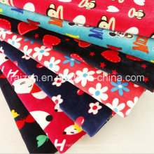 100 % Polyester Polar Fleece Fabric with Cartoon Printings