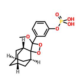 Cas122341-56-4 3-(4'-Methoxyspiro[adamantane-2,3'-[1,2]dioxetan]-4'-yl)phenyl dihydrogen phosphate
