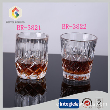 vaso de vidrio de 300ml whisky por mayor