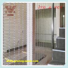 Malla de alambre metálica / decorativa para arquitectura (ISO)
