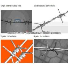 Cercas de alambre de púas