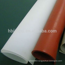 high temperature red silicon rubber sheet