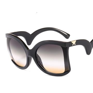 sunglasses women  ovar big sqiare vintage fashion custom designer luxury shades plastic 2020 new arrivals 9055