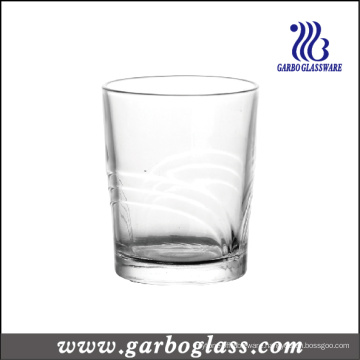 9.5oz Pressed Glass Cup