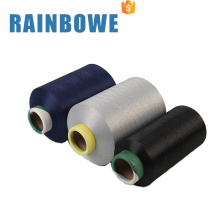 Polyester air covered yarn with spandex 3075 air covered spandex yarn