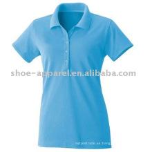 Venta caliente de las mujeres WANAX Promotion products Polo T-shirt