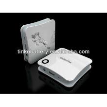 Alta capacidad potencia banco 4500mah OEM da la bienvenida para el smartphone de Apple/samsung/lg/nokia/blackberry/all