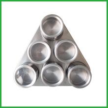 Triangle en acier inoxydable Magnetic Spice Shaker