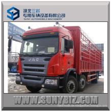 JAC 6X2 Ladung Karosserie LKW Van Truck Stake Truck