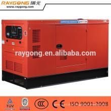 Groupe électrogène diesel insonorisé de 30KW place le moteur de Quanchai