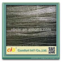 Papier peint/cuir PVC décorative pour les marchés de l'Arabie saoudite