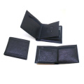 Vente en gros de promotion la main portefeuille de mens en cuir d'unité centrale