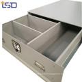 Custom galvanized truck bed ute storage drawer tool box Custom galvanized truck bed ute storage drawer tool box
