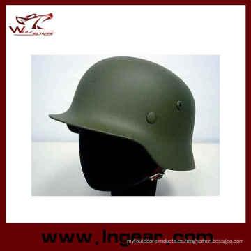 M35 Combatir el casco táctico militar acero casco a prueba de balas