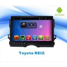 Android-система GPS-автомобильный DVD-плеер для Toyota Reiz 10,1-дюймовый сенсорный экран с Bluetooth / WiFi / TV / MP4