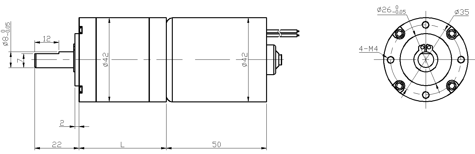 brushless motor gearbox