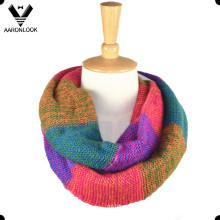 Famosos Knitting Cidade Tonglu Infinito de Alta Qualidade Lenços para As Mulheres