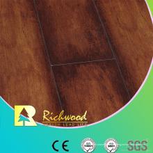 Plancher stratifié imperméable d'érable de texture de woodgrain de 12.3mm E1 AC4