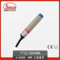 Indutivo Promixity 6-36VDC Três Fios NPN Não 4mm Distância
