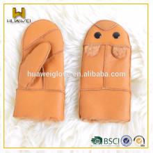 HOT SALE STOCK baby warm soft winter mitten Double face gloves mitten