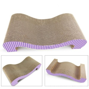 Big discounting for M Shape Cat Scratching Board Double Sided Cat Scratch Board supply to France Manufacturers