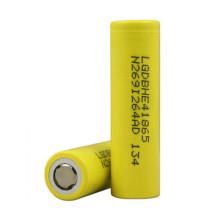 Original Amarelo Lghe4 18650 Bateria Icr18650he2 / He4 2500mAh 35A Descarga