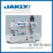 JK562-01CBEUT Avec la machine à coudre d'interlock de commande directe de DOIT de haute qualité et populaire (avec la découpeuse automatique)