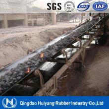 Ceinture de transport en caoutchouc résisitant à haute température de l'industrie minière de charbon