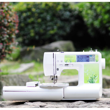 Household Computerized Embroidery and Sewing Machine for Small Business or DIY Job