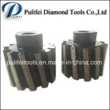 Nasse Verwendung Sintermetall-Bindung Drum Wheel für Granit Marmor