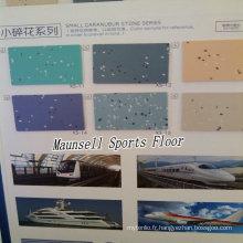 Chine Usine de qualité supérieure PVC / revêtement de sol homogène pour l'hôpital / aéroport / métro / bus