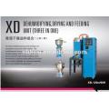 Máquina secadora de tolva