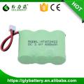 2 / 3aa recarregável nimh bateria pack 3.6 v 600 mah bateria de telefone sem fio
