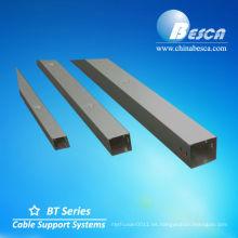 Canalizaciones de cables exteriores galvanizados (UL, IEC, SGS y CE)