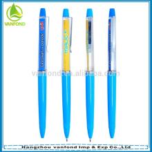 Профессиональный пользовательский логотип плавающей ручка для продвижения