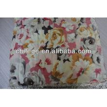 100% Wolle digital gedruckt Schal Schals Schal