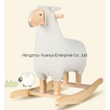 O projeto novo balançou o balancim Animal-Branco dos carneiros