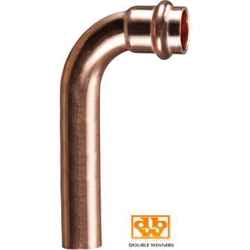 Cu Copper V Profile Pressure Bending 45 Degrees Sleeve