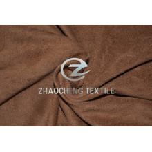 Двухсторонняя эластичная микрозамша с вертикальным расположением и очень мягким ощущением на ощупь для одежды и домашнего использования