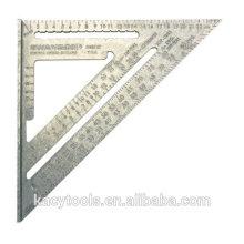 Aluminum alloy wide set square