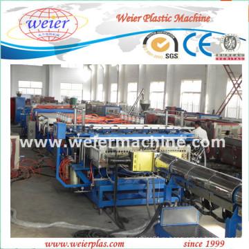 Пластичное машинное оборудование для экструзии ПП ПЭ ПК полый лист Настольные плиты решетки