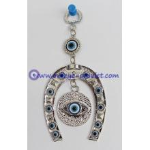Evil Eye with Horse Shoe Protection amulet wall hanging decoration ornament