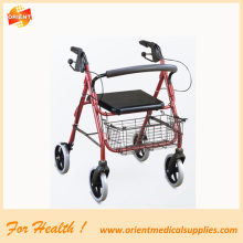 Andador plegable de aluminio movilidad Walker