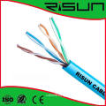 Indoor Twisted Pair Dual LAN Cable UTP Cat5e Cable 0.50mm Bc