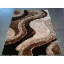 Chinesischer Knoten 3D Seide Teppich