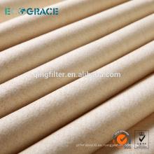 Industria del tabaco NOMEX tejido anti filtro de polvo estático filtro