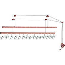 High quality aluminium ceiling mounted clothes drying rack
