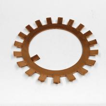Piezas mecanizadas de cobre de precisión