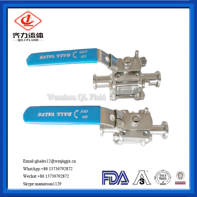 Full Bore Weld 1000wog 3PC Ball Valve