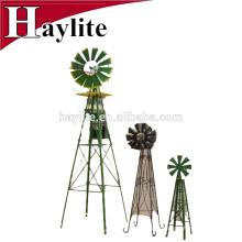 Petit moulin à vent portatif de jardin en métal comme lowes décoratif